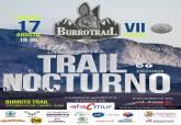 Cartel de la VII Burro Trail de Perín