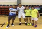 Club de Bádminton Cartagena en el torneo Feria de Almería