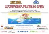 Cartel II Concurso de Pesca alevín e infantil