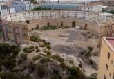 Excavaciones del Anfiteatro Romano de Cartagena