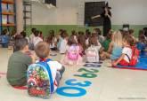 Visita al colegio Atalaya en el primer día de clase