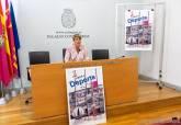 La vicealcaldesa y edil del área de Deportes, Noelia Arroyo, durante sus declaraciones a la prensa