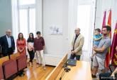Acto de nominación de la Sala de Prensa José Albaladejo Ros en el Palacio Consistorial