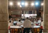 Actuación Banda de Infantería de Marina en el Palacio Consistorial