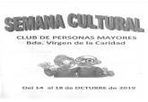 Semana cultural de los mayores de la Barriada de la Caridad