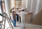 Obras del nuevo local social de El Llano del Beal