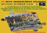 Cartel II Ruta Arqueología Solidaria