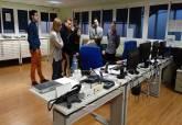 Visita de alumnos de Grado de Seguridad del ISEN al Parque de Seguridad de Cartagena