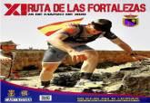 Cartel del a XI Ruta de las Fortalezas