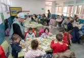 Puesta en marcha del nuevo comedor escolar del colegio José María de la Puerta