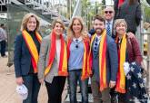Eliminatoria de la Copa federación entre España y Japón en La Manga Club
