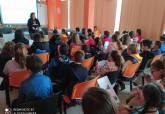 Visita de escolares al Circuito de Velocidad con el programa ADE