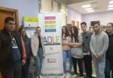 Visita de los alumnos del Ies Juan Sebastián Elcano a la ADLE