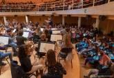 Más de 500 jóvenes asisten a la jornada de puertas abiertas de la Orquesta Sinfónica de Cartagena