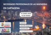 Cartel webinar del sector industrial ADLE