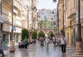 Presentación de la campaña de Centro Comercial Abierto de Cartagena, calle Santa Florentina