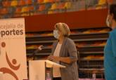Firma del acuerdo de colaboración para la promoción del baloncesto en Cartagena