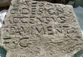 Pedestales epigráficos del Foro de la Colonia Romana