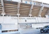 Cambio de cesped Estadio Cartagonova
