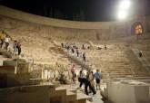 Visitas nocturnas Museo del Teatro Romano