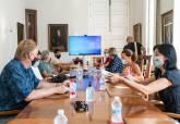Reunión con los presidentes de las AAVV del Mar Menor