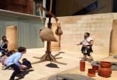 Escuela de gladiadores, actividad Puerto de Cultura