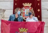 Recepción a Lorena Madrid, representante de Cartagena en el Reto Pelayo Vida