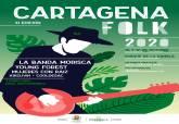 Cartel Folk Cartagena