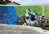 El artista urbano Raúl Estal Psico homenajea a los sanitarios a través de un mural