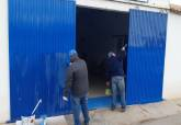 Obras y labores de mantenimiento en La Manga
