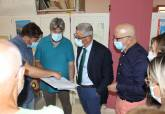 Reunión del concejal Padín con los representantes vecinales y de sanidad