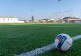 Inauguración del campo de fútbol de césped artificial de Molinos Marfagaones