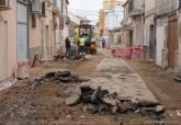 Obras de mejora del alcantarillado en Pozo Estrecho