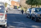 Mejora del pavimento en el paseo de San Roque de Alumbres