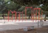 Parque de calistenia.