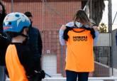 Pabellón y pista deportiva de Cuatro Santos.