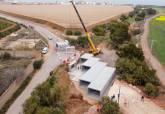 Obras de mejora de la evacuación de agua en la Rambla de la Carrasquilla
