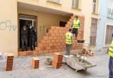 Desalojo de viviendas en el Barrio Universitario