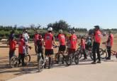 Ciclistas en Los Camachos.