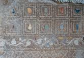 La remodelada sala de exposiciones Muralla Bizantina, ahora denominada Domus Porticus