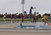 Fotografías de las competiciones masculina y femenina del UCAM Atletismo Cartagena el pasado fin de semana