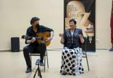 María Dolores Díaz, ganadora en la modalidad de Voz