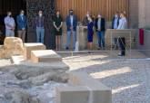 Inauguración de la Plaza de Blanca Roldán en el Foro Romano