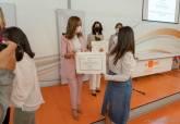 Entrega de diplomas a los centros que se han sumado a los Presupuestos Participativos