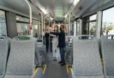 Presentación del primer autobus eléctrico cien por cien