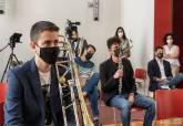 Presentación del concierto de Jóvenes Solistas de la Agrupación Musical Sauces