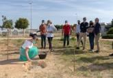 Colocación de la primera piedra para la ampliación de la Escuela de Música de Pozo Estrecho