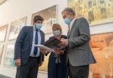 Inauguración de la exposición de Pedro Cano en el Museo del Teatro Romano