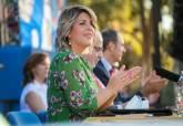 La alcaldesa Noelia Arroyo, madrina de los egresados en la UCAM de Cartagena