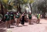 Adecuación del Huerto Cándido a cargo de alumnos de la ADLE